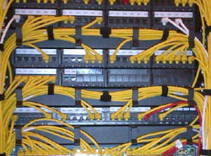Structured Cabling, CAT5e, CAT6, CAT6a, CAT7, Fibre Optic, Cable Termination